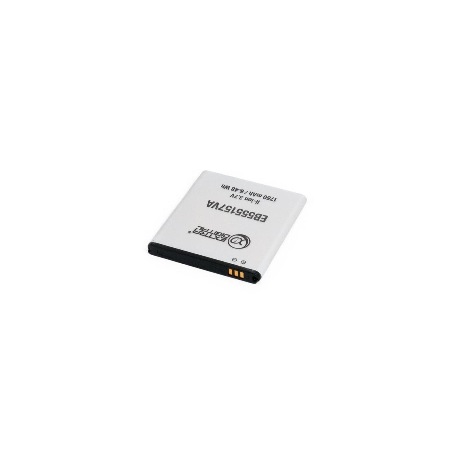 Аккумуляторная батарея EXTRADIGITAL Samsung SGH-i997 Galaxy S Infuse 4G (1750 mAh, EB555157VA) (BMS6331) изображение 6