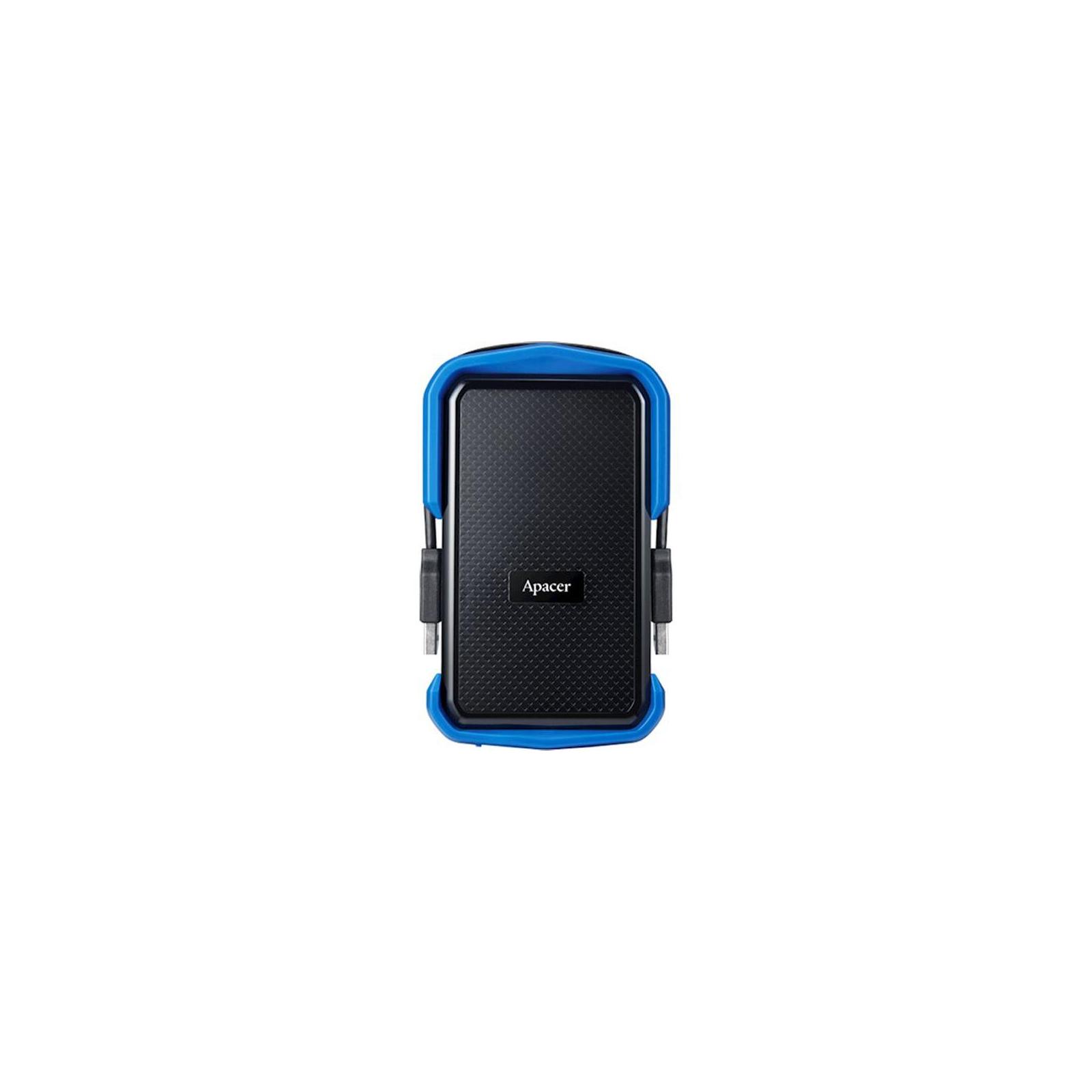 """Зовнішній жорсткий диск 2.5"""" 1TB Apacer (AP1TBAC631U-1) зображення 2"""
