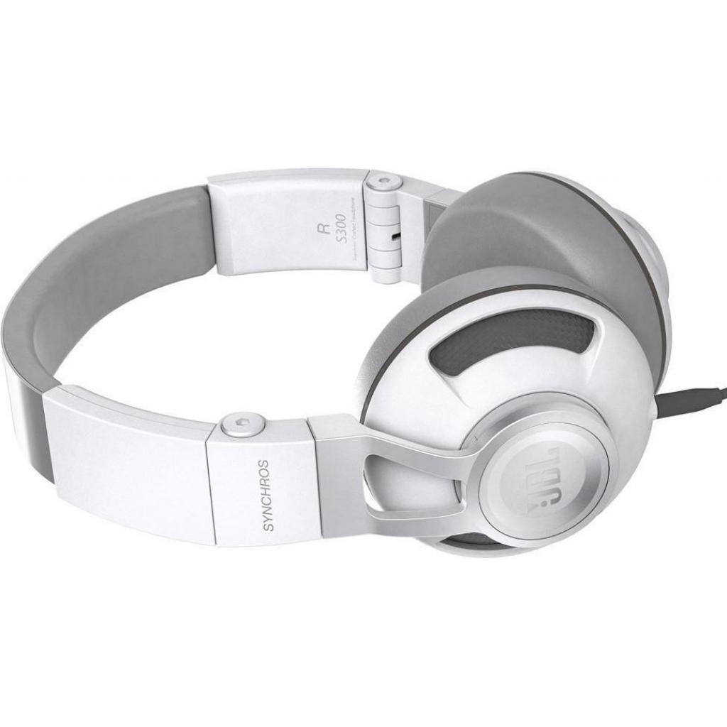 Наушники JBL Synchros S300i White/Silver (SYNOE300IWNS) изображение 2