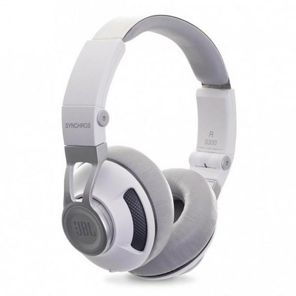 Наушники JBL Synchros S300i White/Silver (SYNOE300IWNS) изображение 4