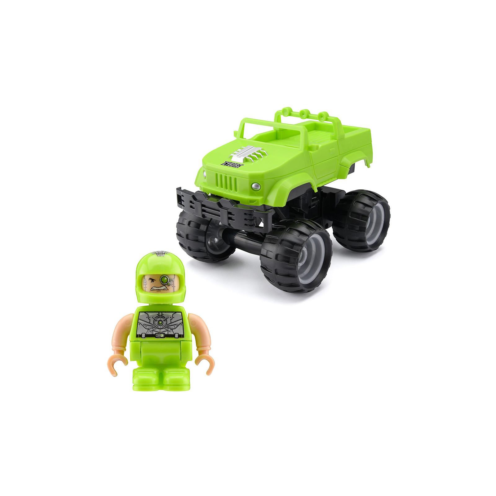 Радиоуправляемая игрушка Monster Smash-Ups Crash Car S2 Киборг Зеленый (TY6082A)