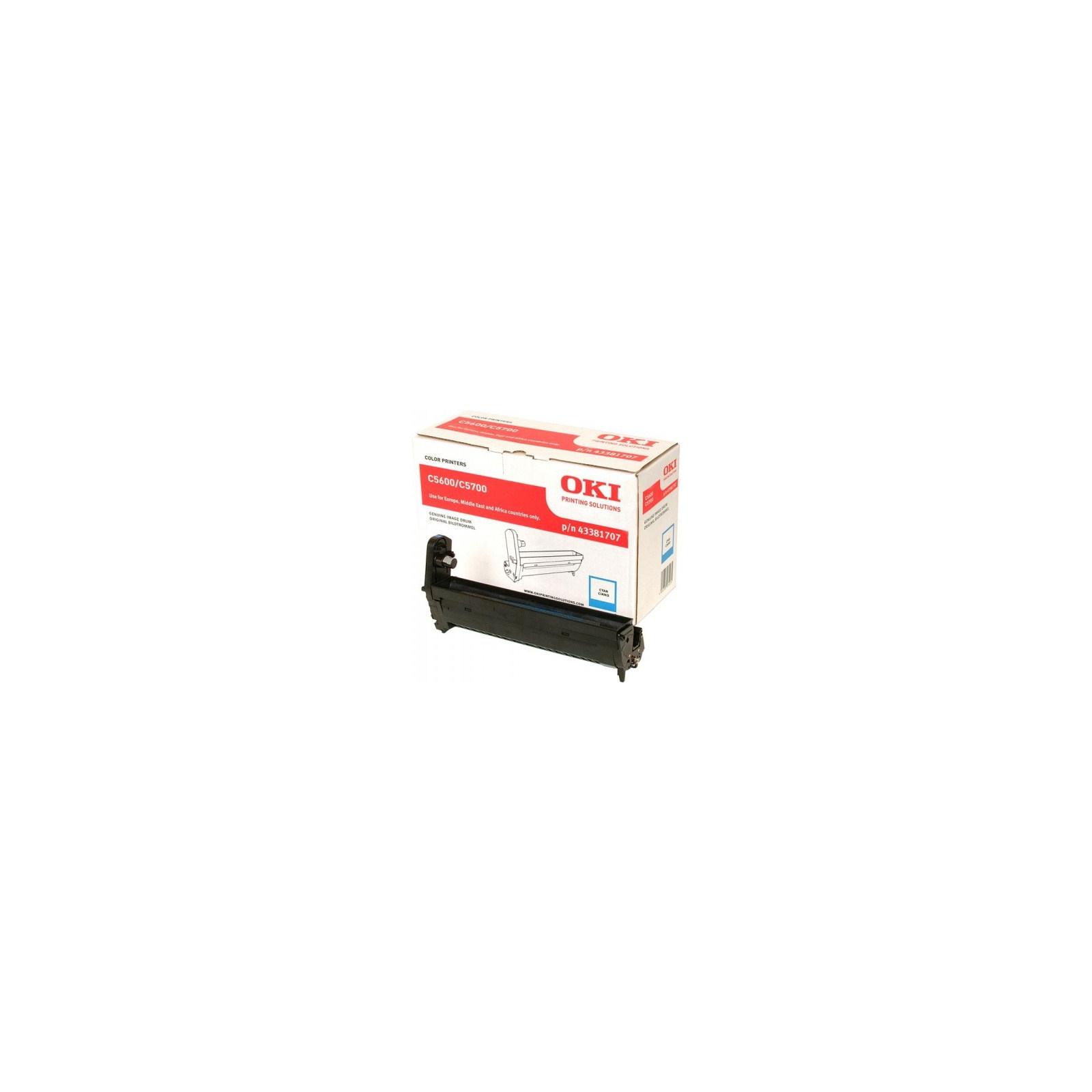 Фотокондуктор OKI C5600/5700 Cyan (43381707)