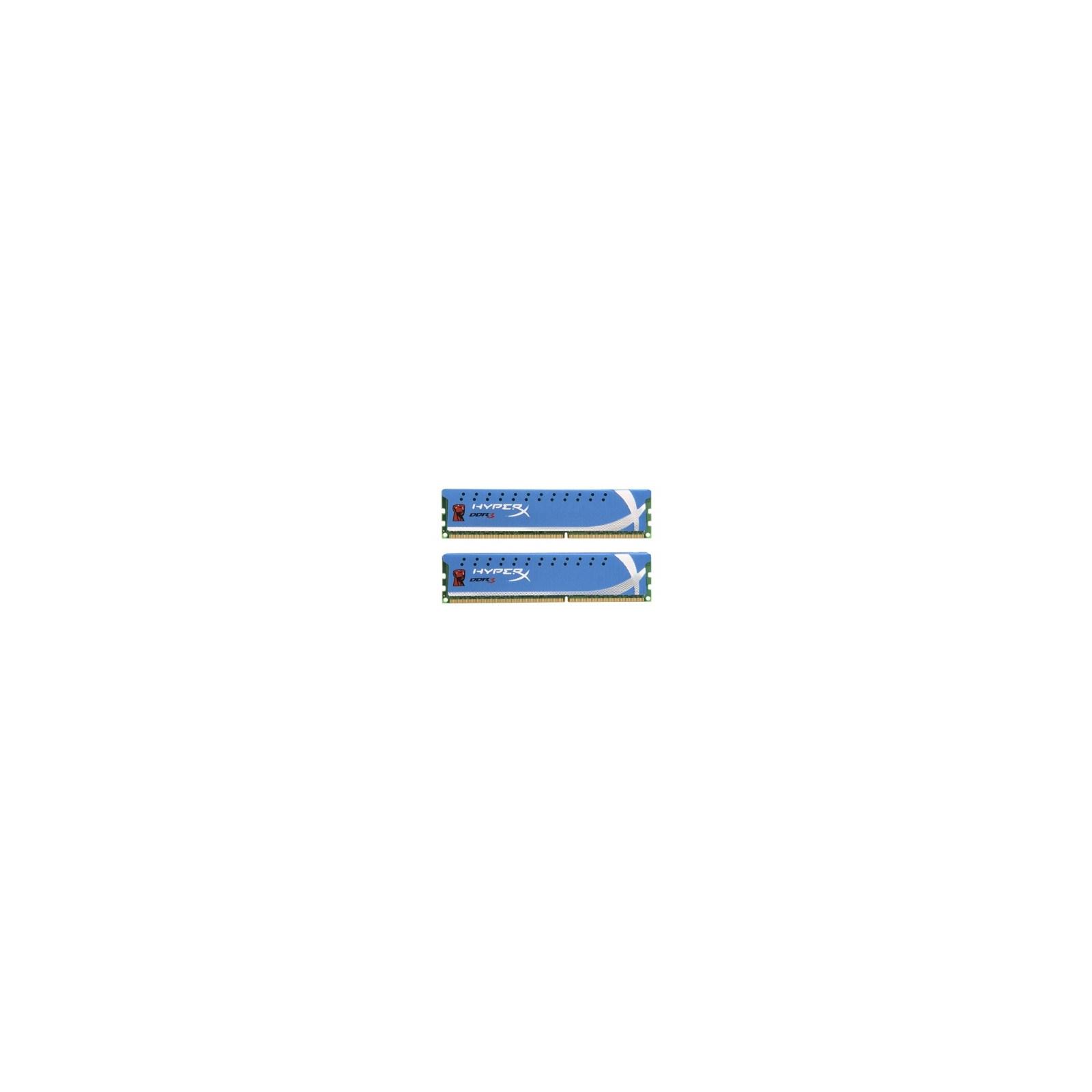 Модуль памяти для компьютера DDR3 8GB (2x4GB) 1866 MHz Kingston (KHX1866C9D3K2/8G)