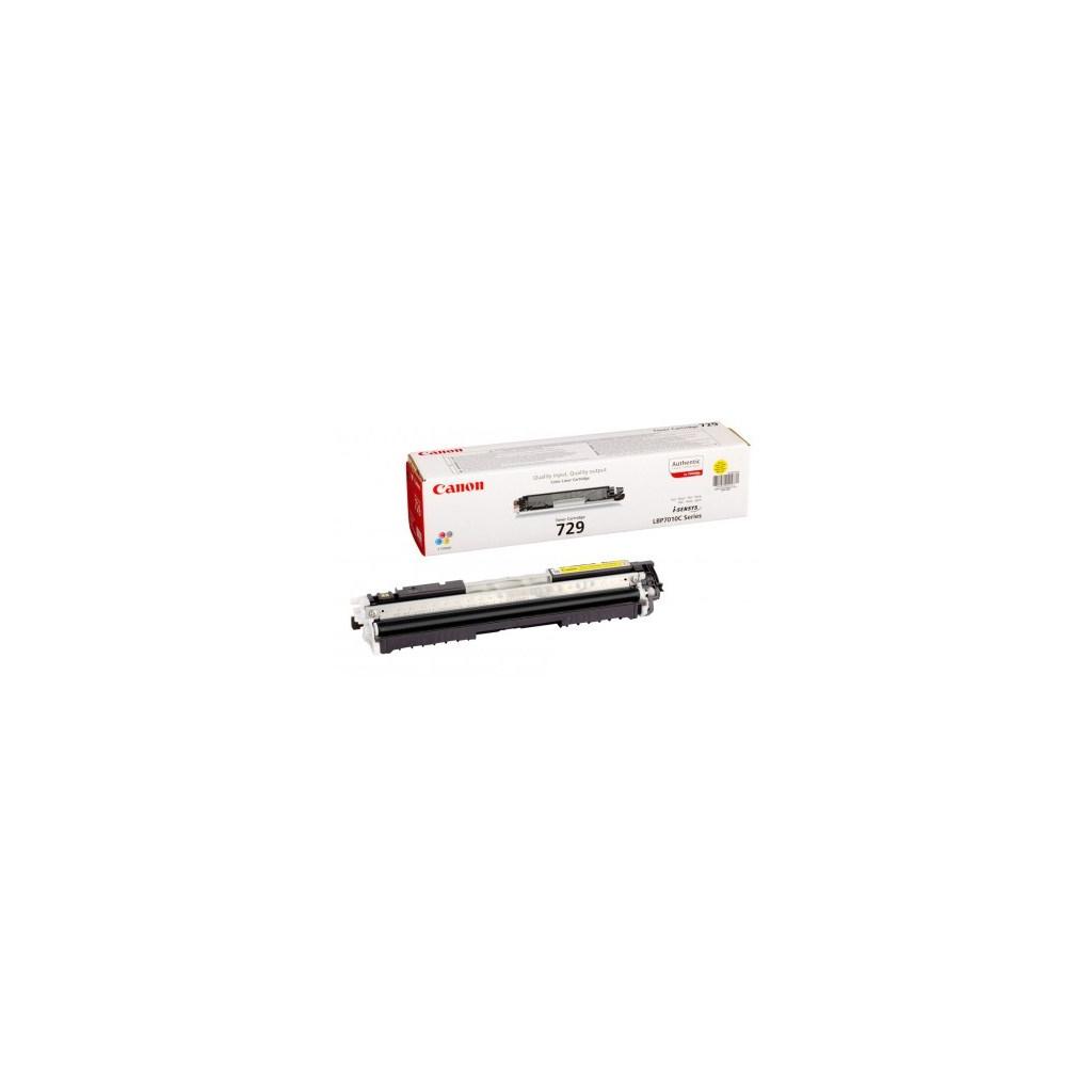 Картридж Canon 729 LBP-7018С/ 7010С Yellow (4367B002)