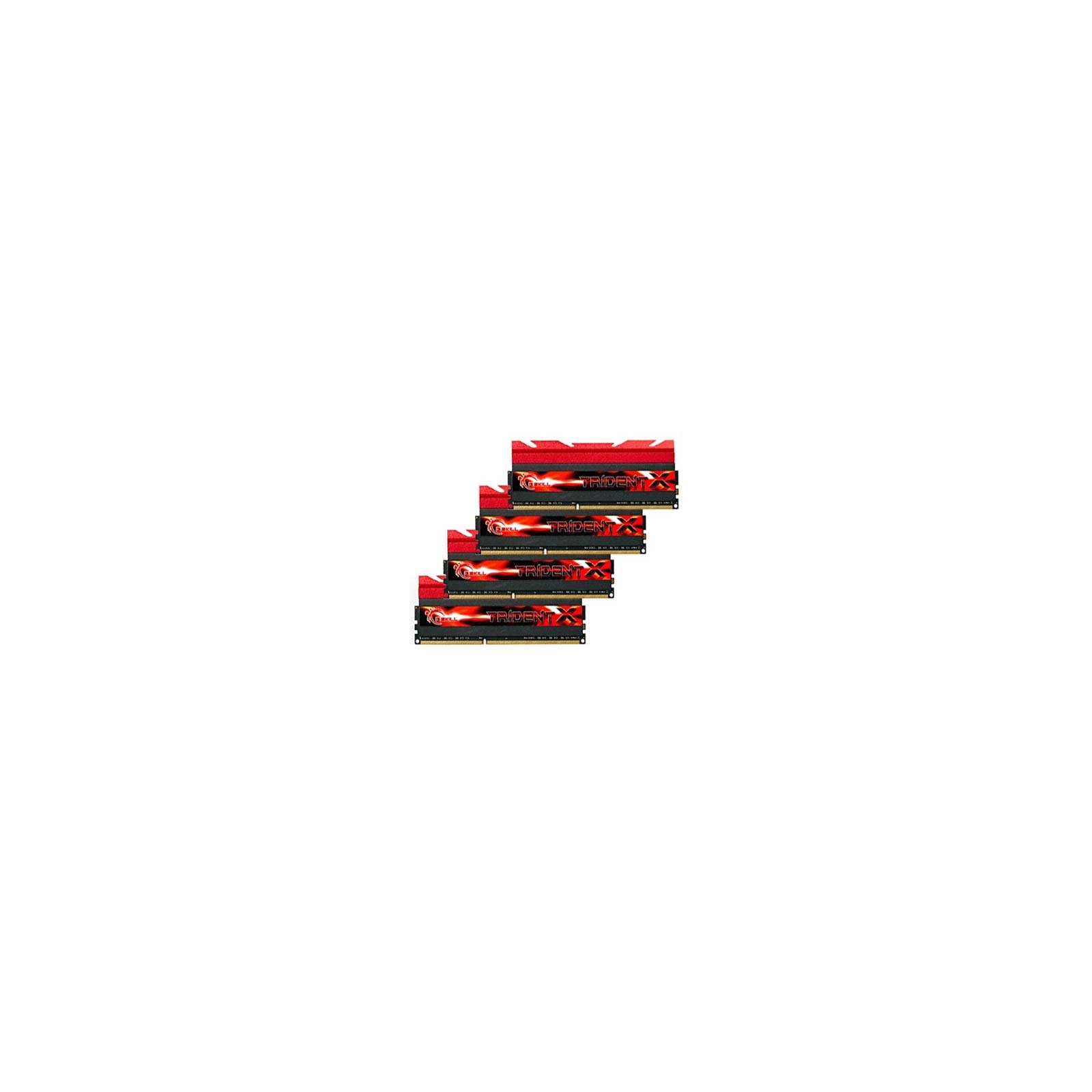 Модуль памяти для компьютера DDR3 32GB (4x8GB) 2400 MHz G.Skill (F3-2400C10Q-32GTX)