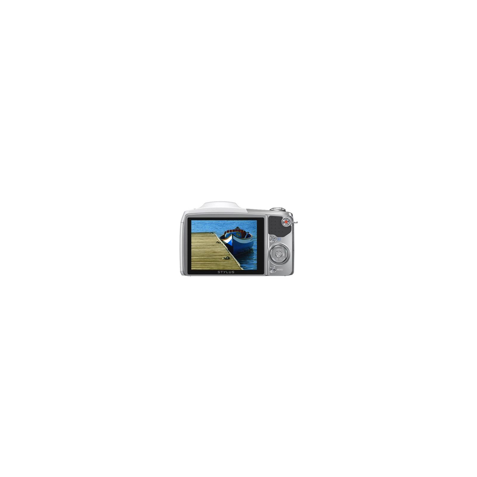 Цифровой фотоаппарат OLYMPUS SZ-16 white (V102100WE000) изображение 2