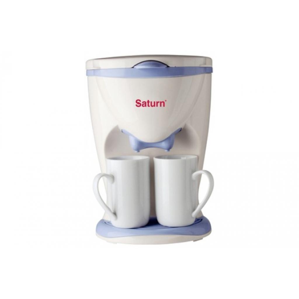 Кофеварка SATURN ST-CM0173 white
