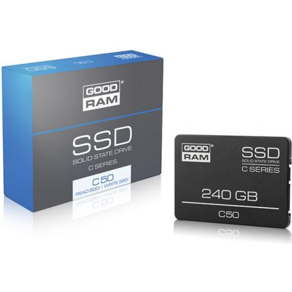 "Накопитель SSD 2.5"" 240GB GOODRAM (SSDPR-C50-240) изображение 2"