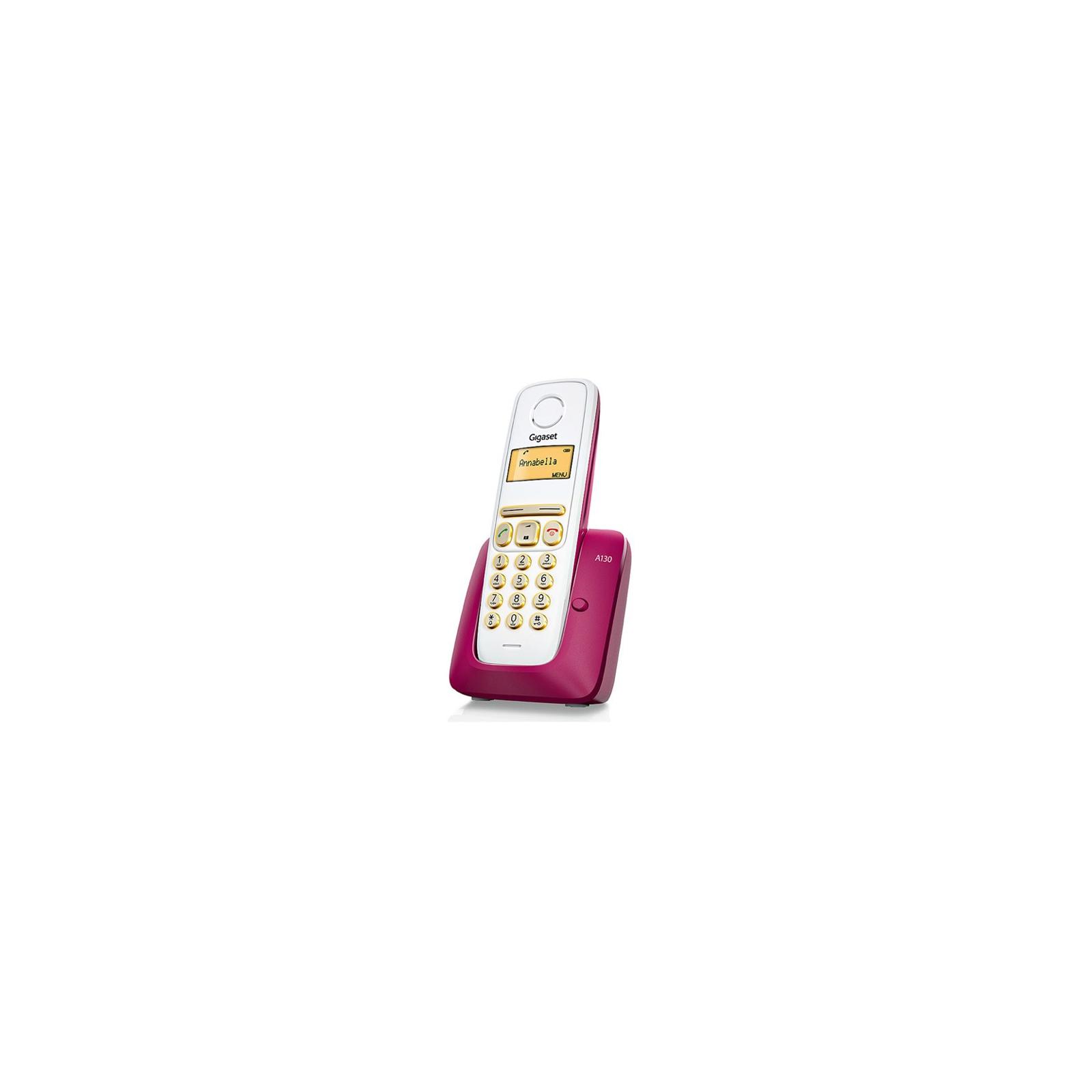 Телефон DECT Gigaset A130 Bordeaux (S30852H2414S303) изображение 2
