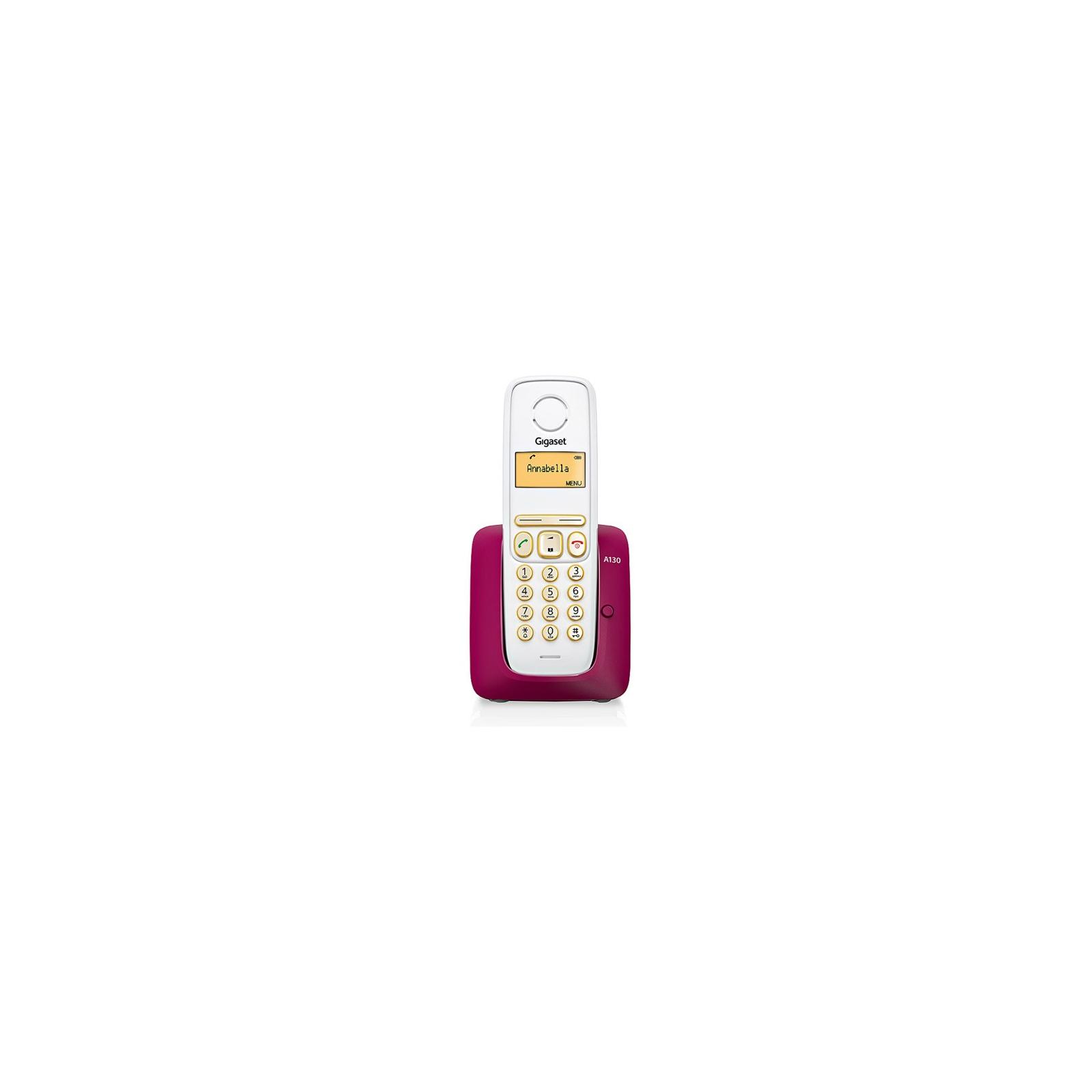 Телефон DECT Gigaset A130 Bordeaux (S30852H2414S303)