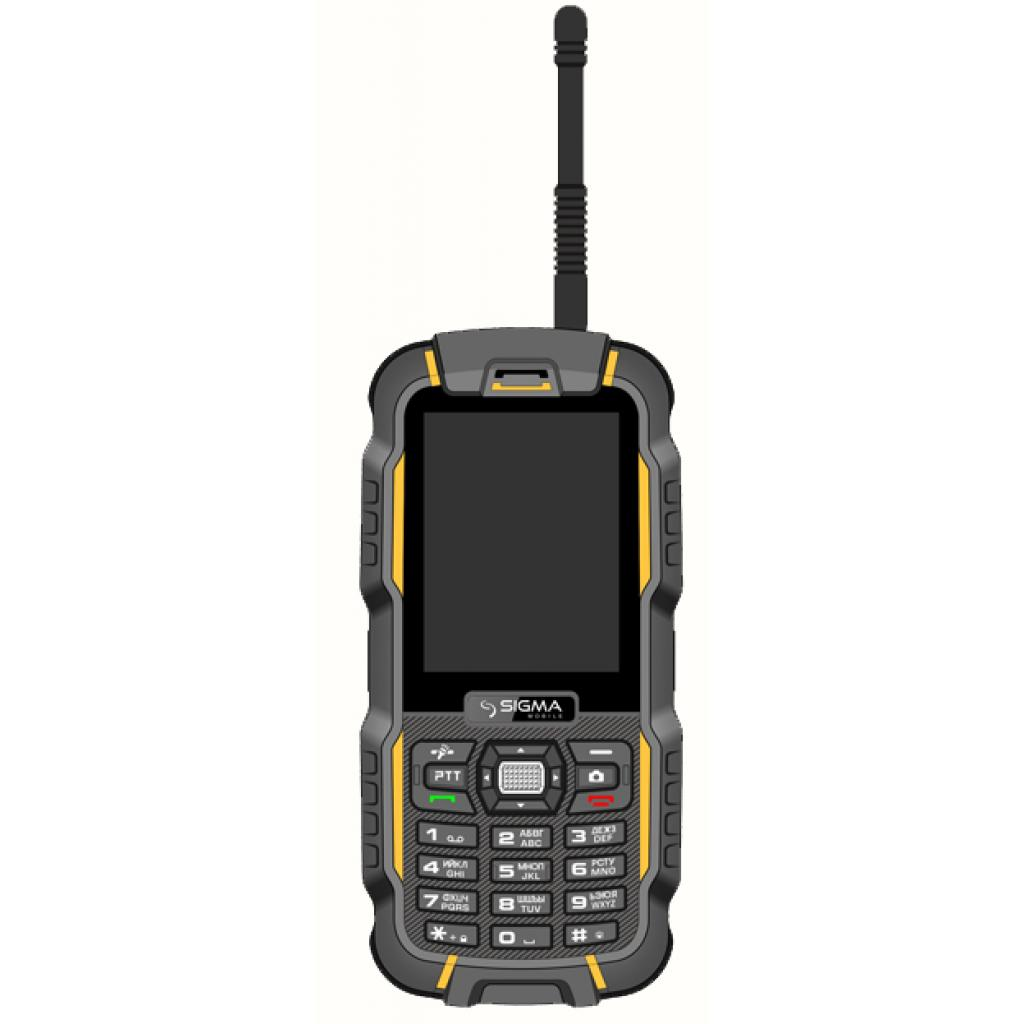 Мобильный телефон Sigma X-treme DZ67 Travel Yellow Black (6907798466411) изображение 7