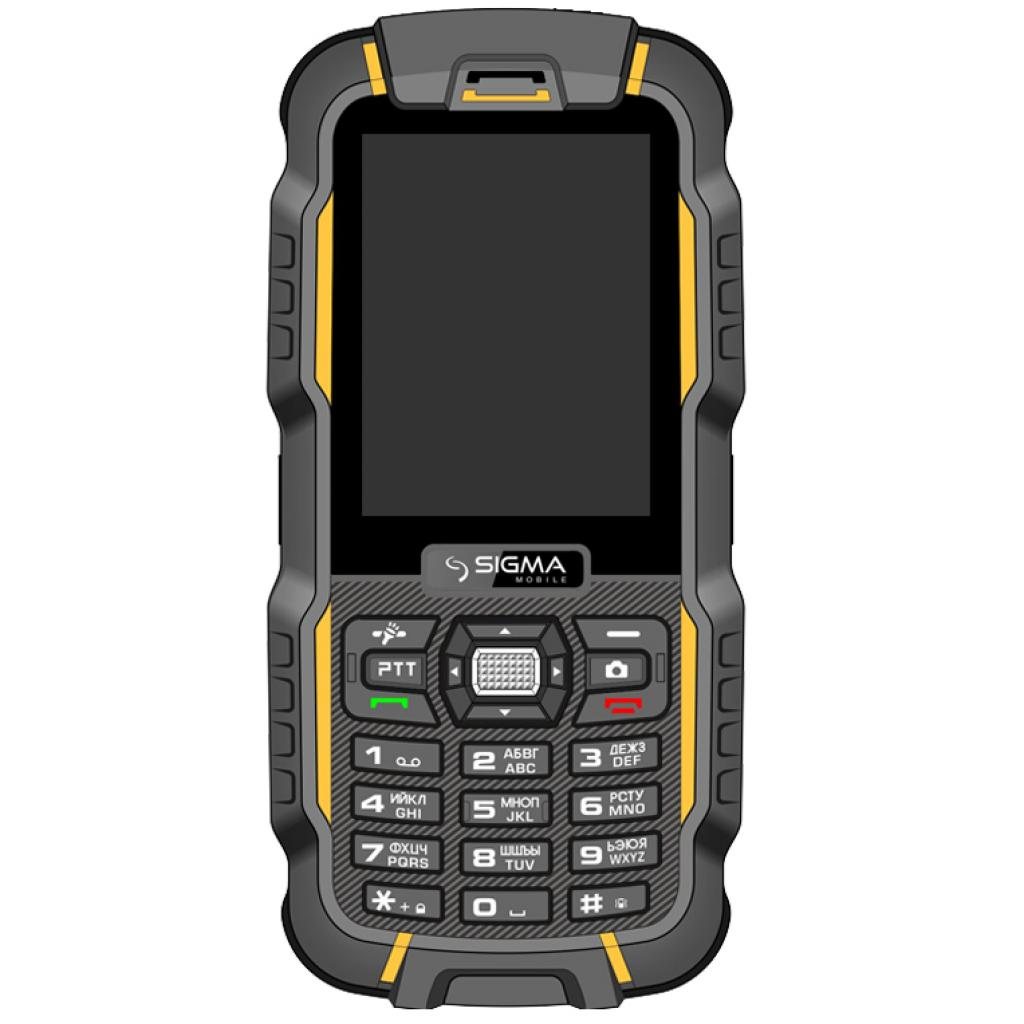 Мобильный телефон Sigma X-treme DZ67 Travel Yellow Black (6907798466411)