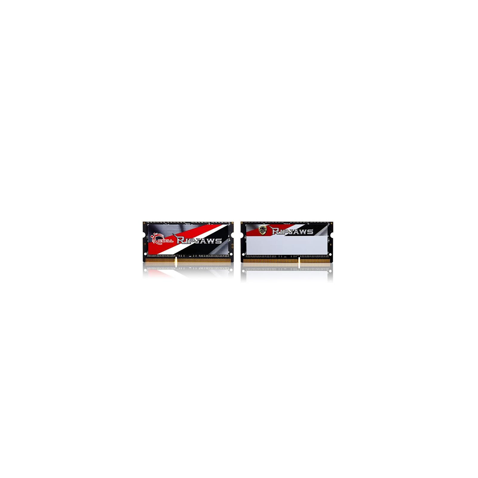 Модуль памяти для ноутбука SoDIMM DDR3 8GB (2x4GB) 1600 MHz G.Skill (F3-1600C11D-8GRSL) изображение 2