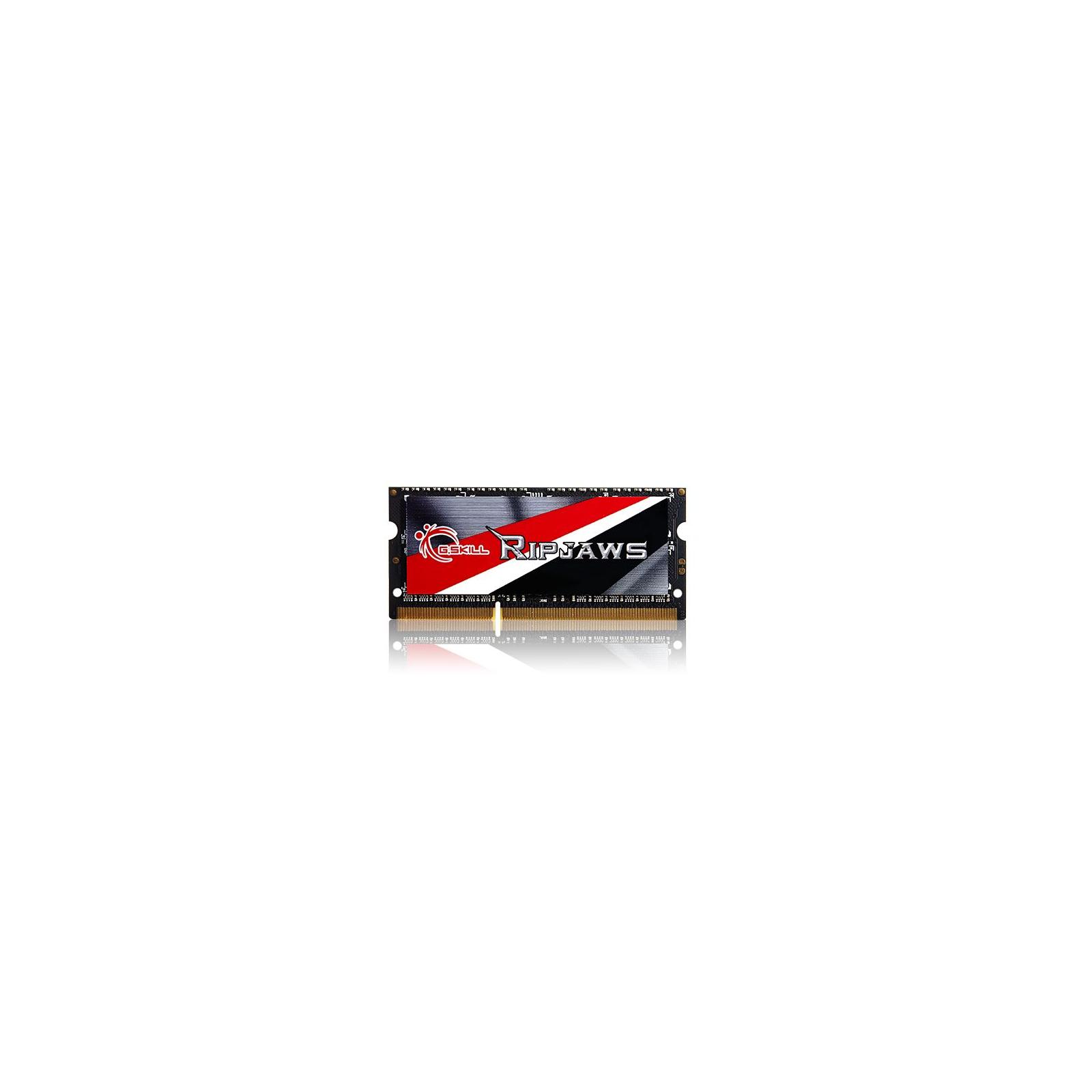 Модуль памяти для ноутбука SoDIMM DDR3 8GB (2x4GB) 1600 MHz G.Skill (F3-1600C11D-8GRSL) изображение 3