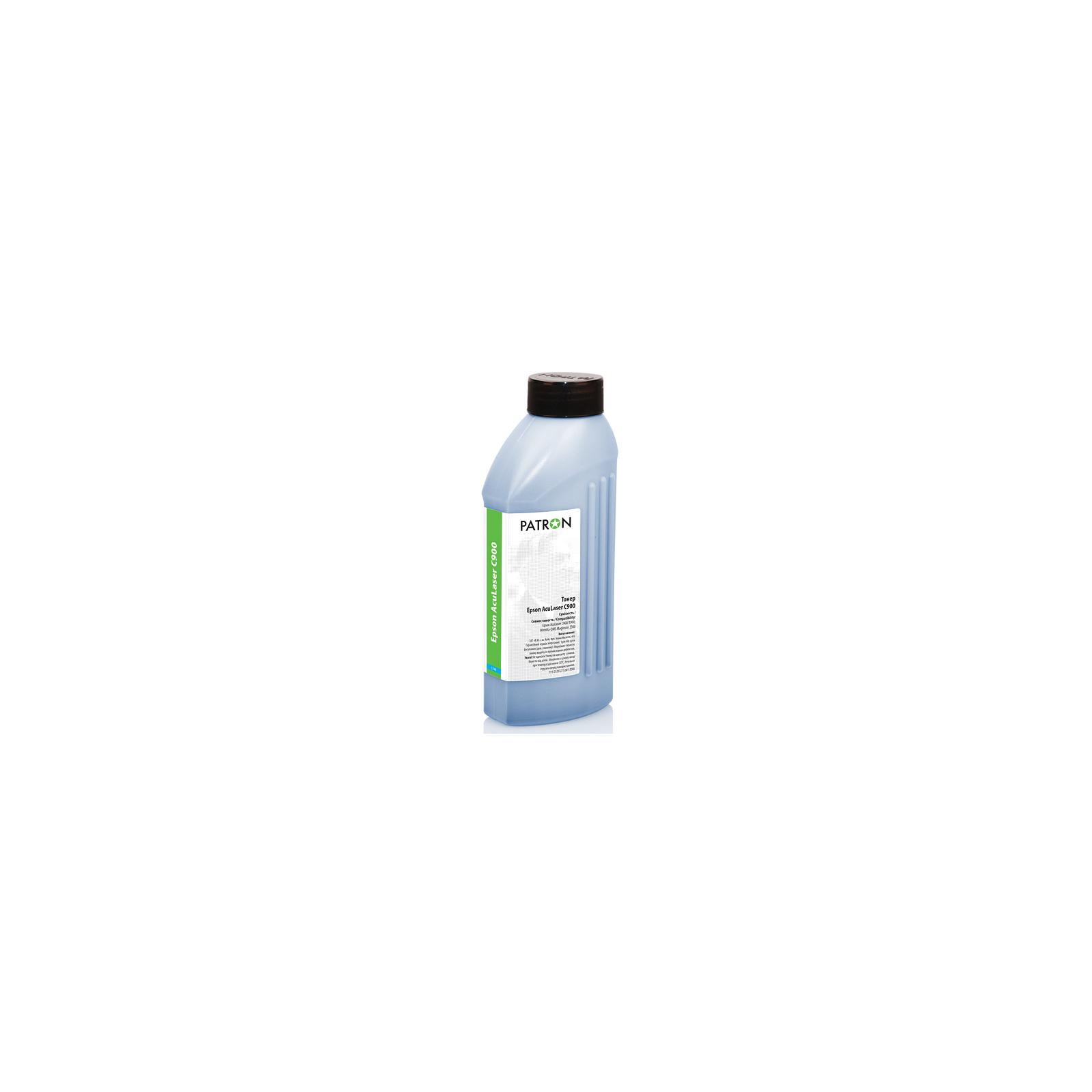 Тонер PATRON EPSON ACULASER C900 CYAN 170г (T-PN-EALC900-C-170)
