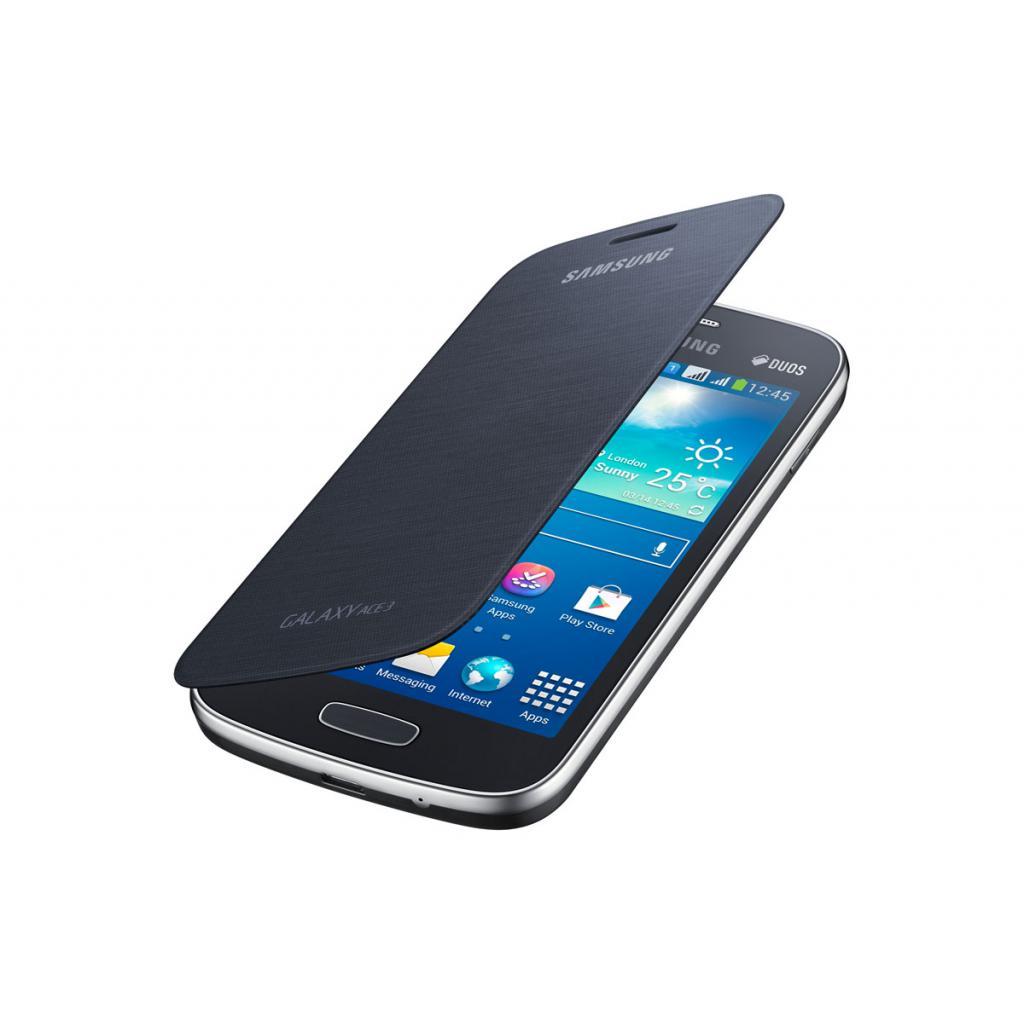 Чехол для моб. телефона Samsung S7272 Galaxy Ace 3/Black/Flip Cover (EF-FS727BBEGWW) изображение 2