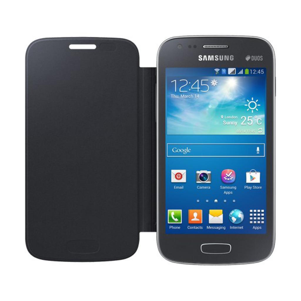 Чехол для моб. телефона Samsung S7272 Galaxy Ace 3/Black/Flip Cover (EF-FS727BBEGWW) изображение 3