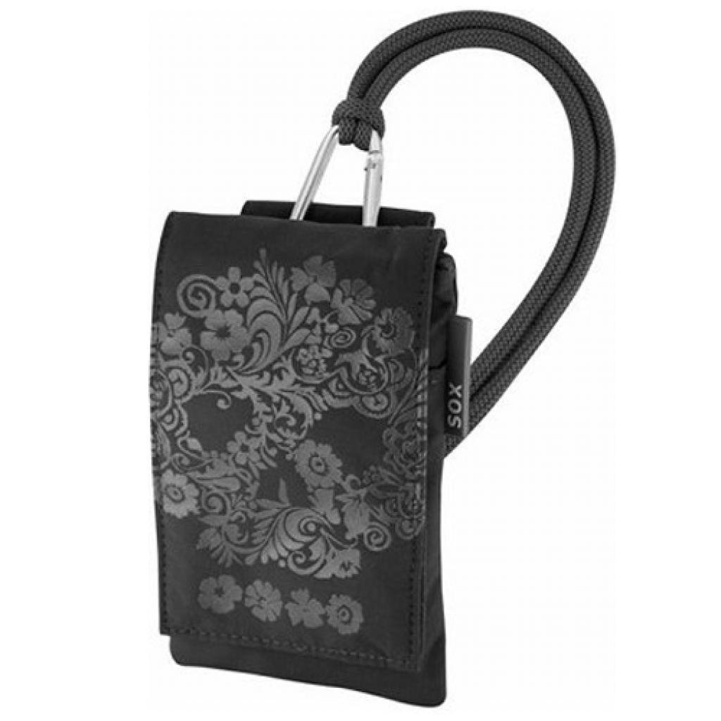 Чехол для моб. телефона Sox SKULLFLOWER BLACK (KSKF_01)