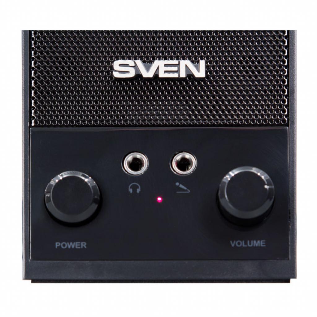 Акустическая система SVEN SPS-604 black изображение 3