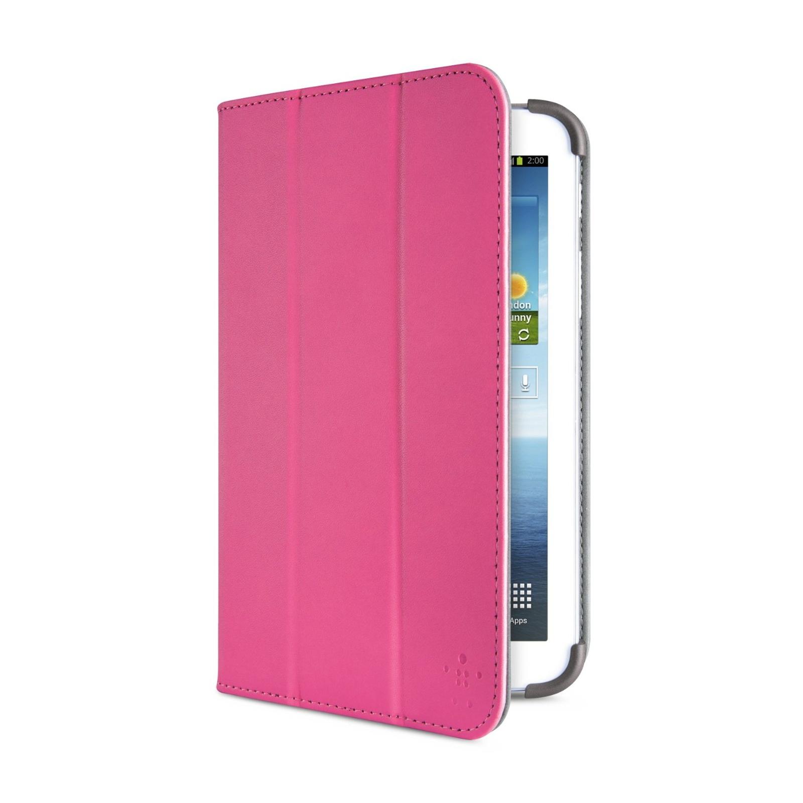 Чехол для планшета Belkin 7 GalaxyTab3 Tri-Fold Cover Stand/pink (F7P120vfC02) изображение 2
