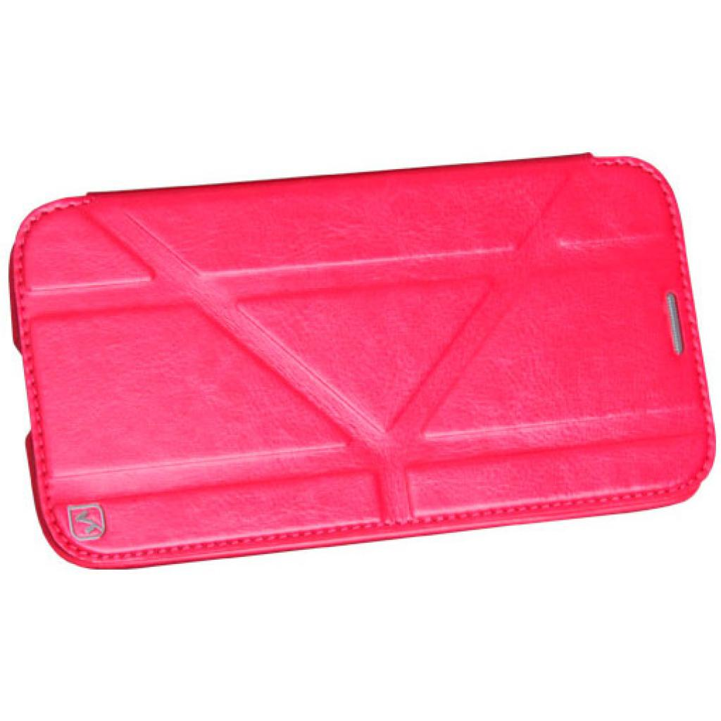 Чехол для моб. телефона HOCO для Samsung I9152 Galaxy Mega 5.8 /Crystal s (HS-L035 Rose Red)