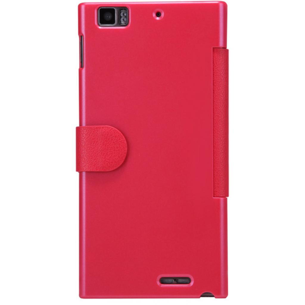 Чехол для моб. телефона NILLKIN для Lenovo K900 /Fresh/ Leather/Red (6076864) изображение 2