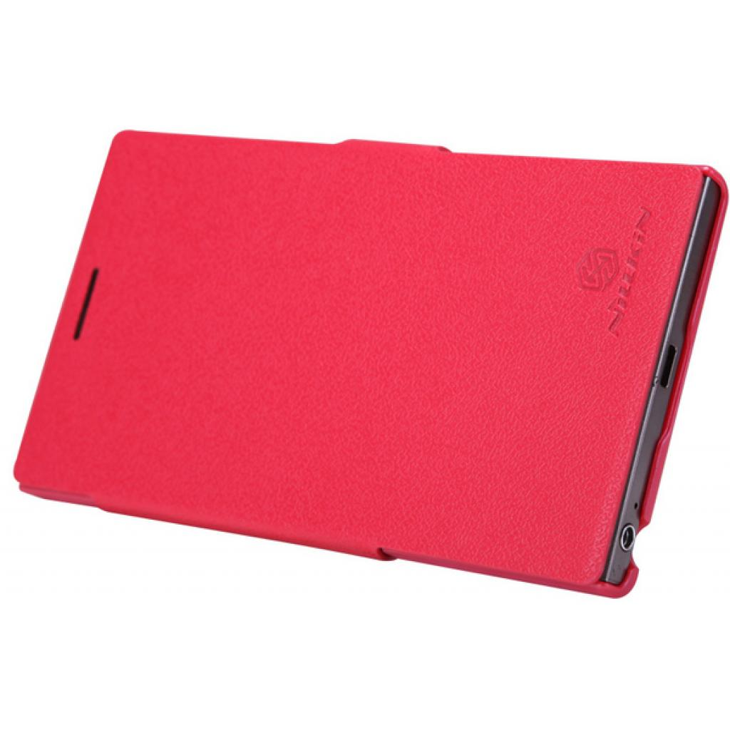 Чехол для моб. телефона NILLKIN для Lenovo K900 /Fresh/ Leather/Red (6076864) изображение 5