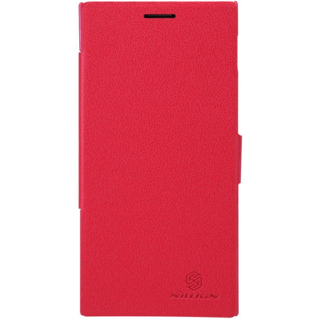 Чехол для моб. телефона NILLKIN для Lenovo K900 /Fresh/ Leather/Red (6076864)
