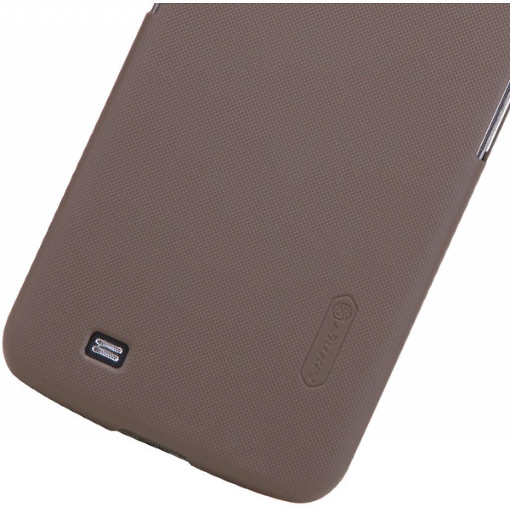 Чехол для моб. телефона NILLKIN для Samsung I9200 /Super Frosted Shield/Brown (6065875) изображение 4