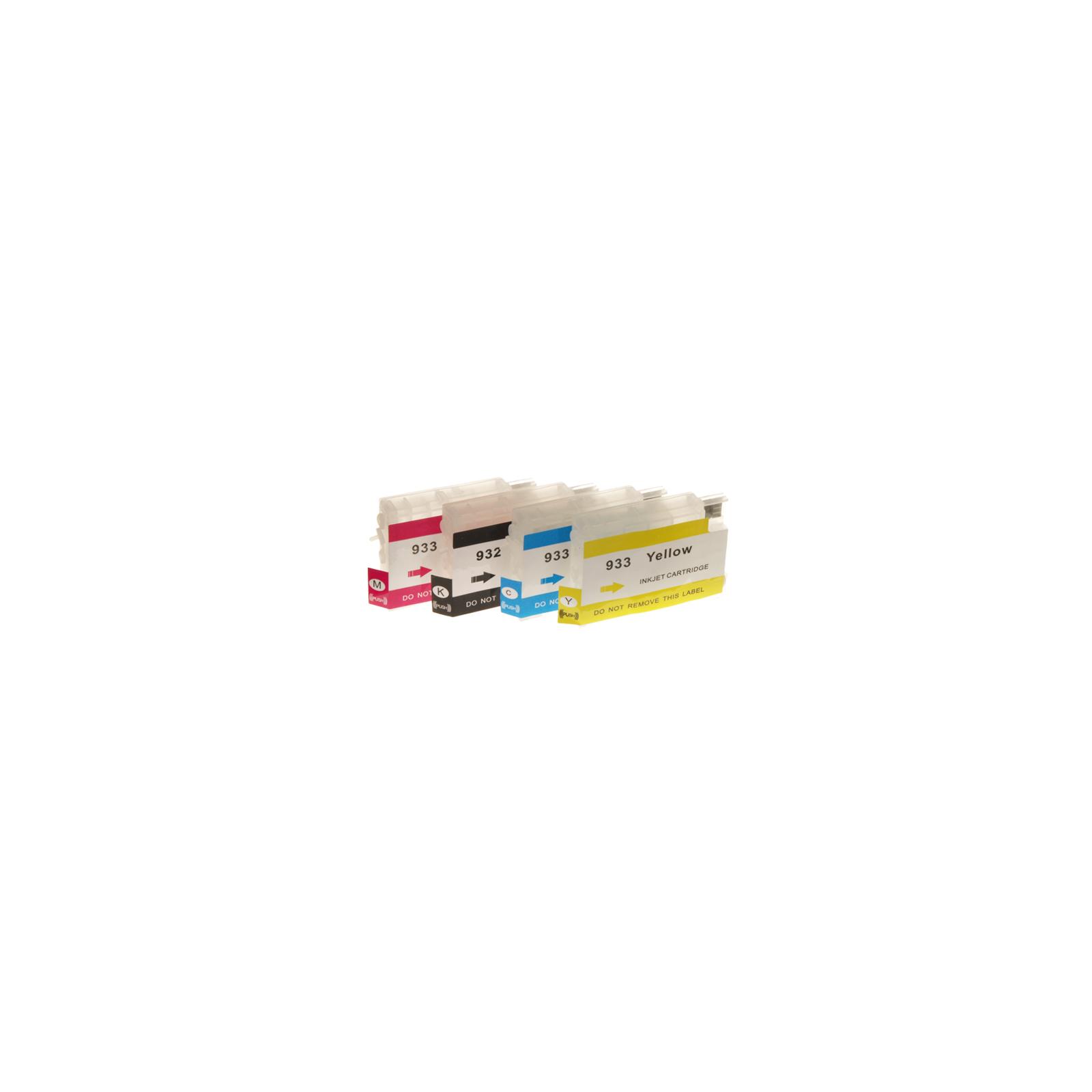 Комплект перезаправляемых картриджей SuperPrint для HP OfficeJet 6100/7610A +АОchip (Refill4-932/933)