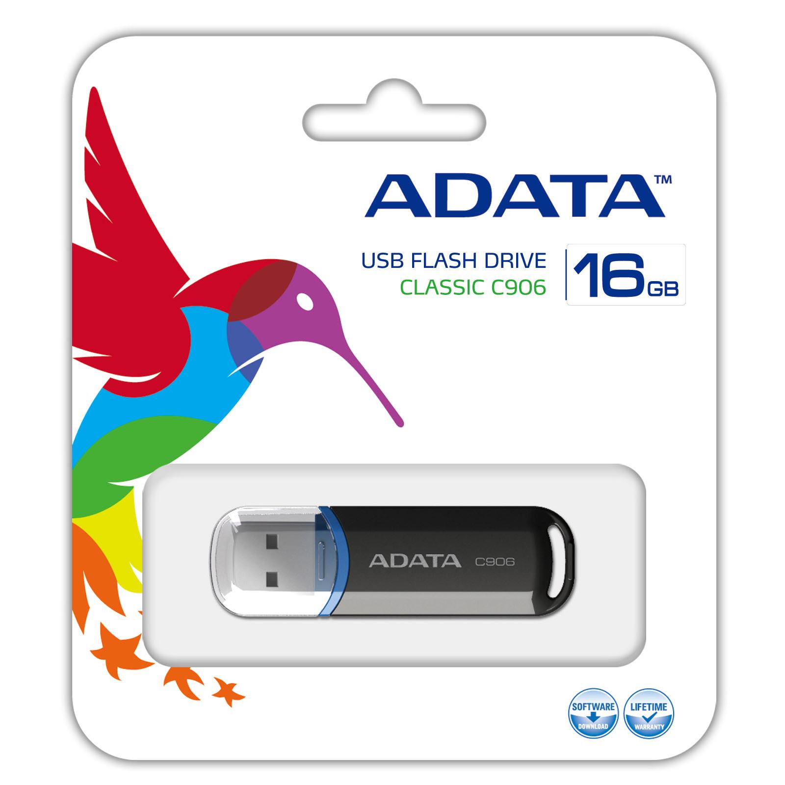 USB флеш накопитель ADATA 8Gb C906 black (AC906-8G-RBK) изображение 4