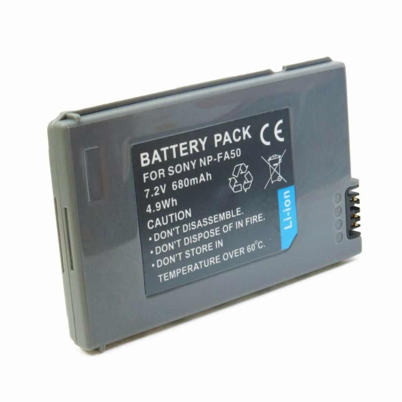 Аккумулятор к фото/видео EXTRADIGITAL Sony NP-FA50 (DV00DV1064) изображение 2