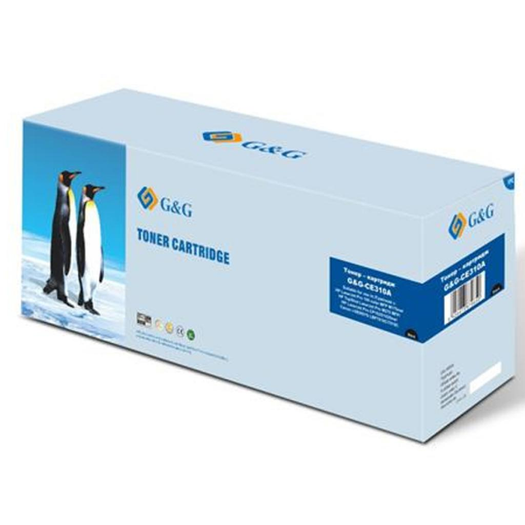 Картридж G&G для HP Color LJ CP1025/CP1025nw Black (G&G-CE310A)