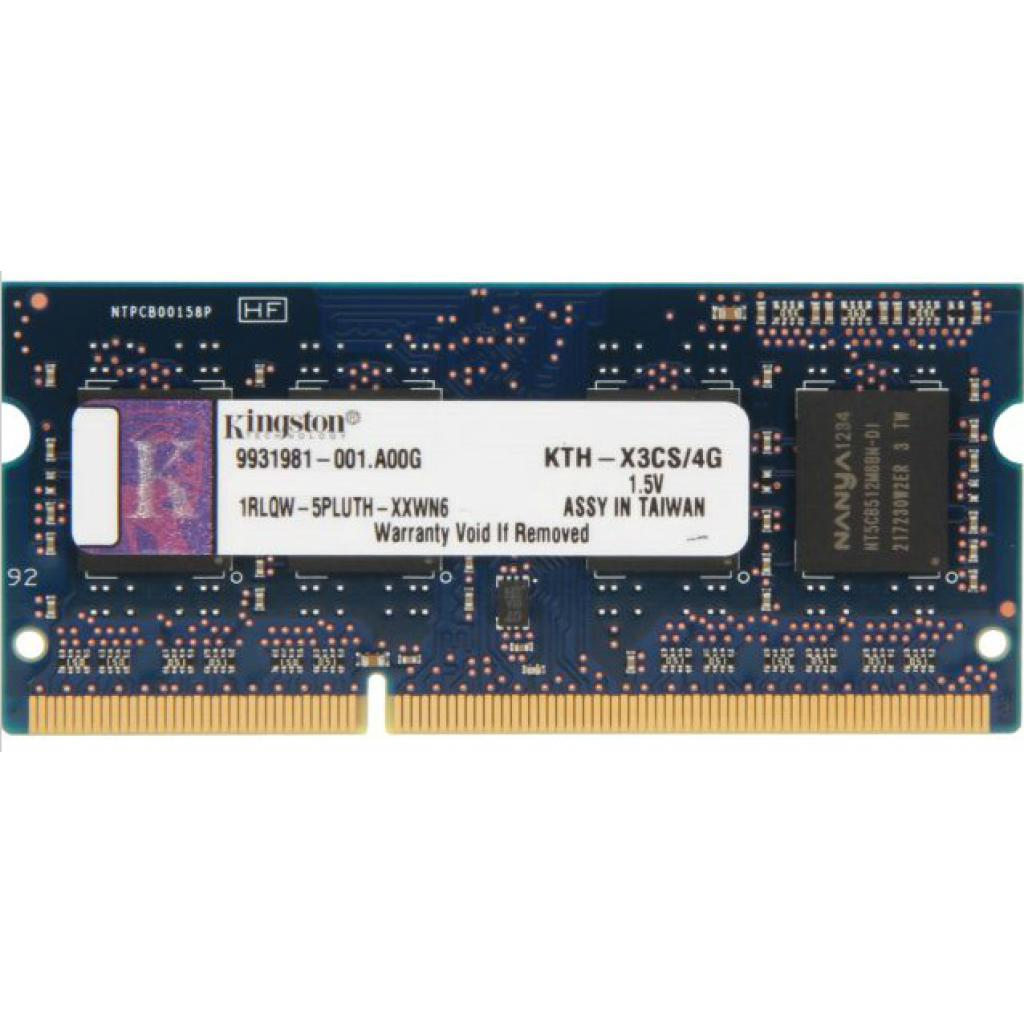 Модуль памяти для ноутбука SoDIMM DDR3 4GB 1600 MHz Kingston (KTH-X3CS/4G)