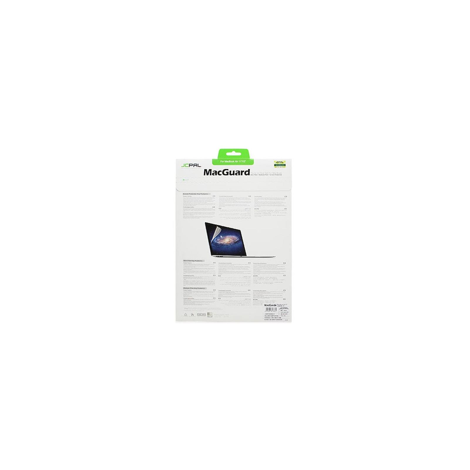 Пленка защитная JCPAL 3 in 1 set для MacBook Air 11 (JCP2043) изображение 2