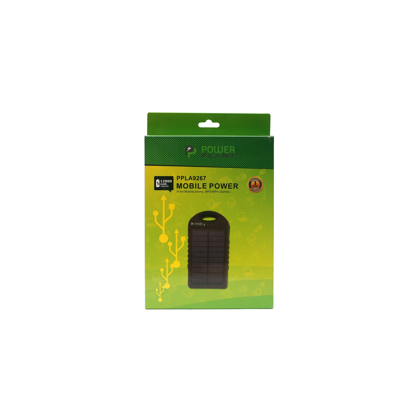 Батарея универсальная PowerPlant PB-LA9267 12000mAh 1*USB/1A 1*USB/2A (PPLA9267) изображение 4