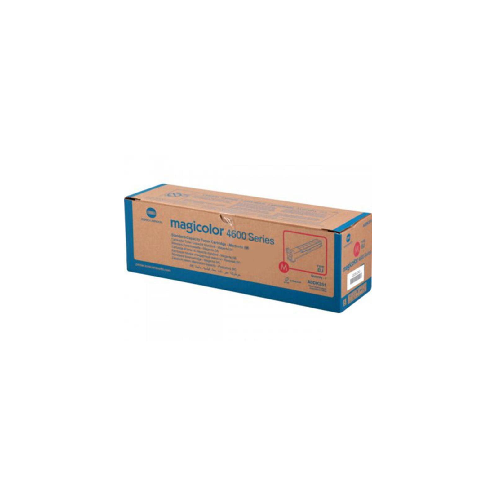 Тонер-картридж KONICA MINOLTA MagiColor 4600 Series (Magenta) 4К (A0DK351)