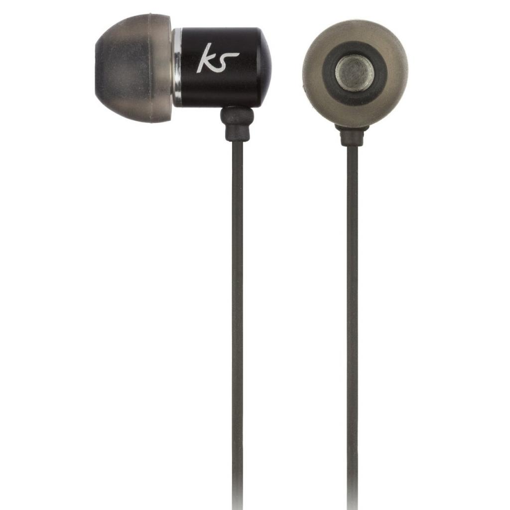 Наушники KitSound KS Ace In-Ear Headphones with mic Black (KSACEMBK)