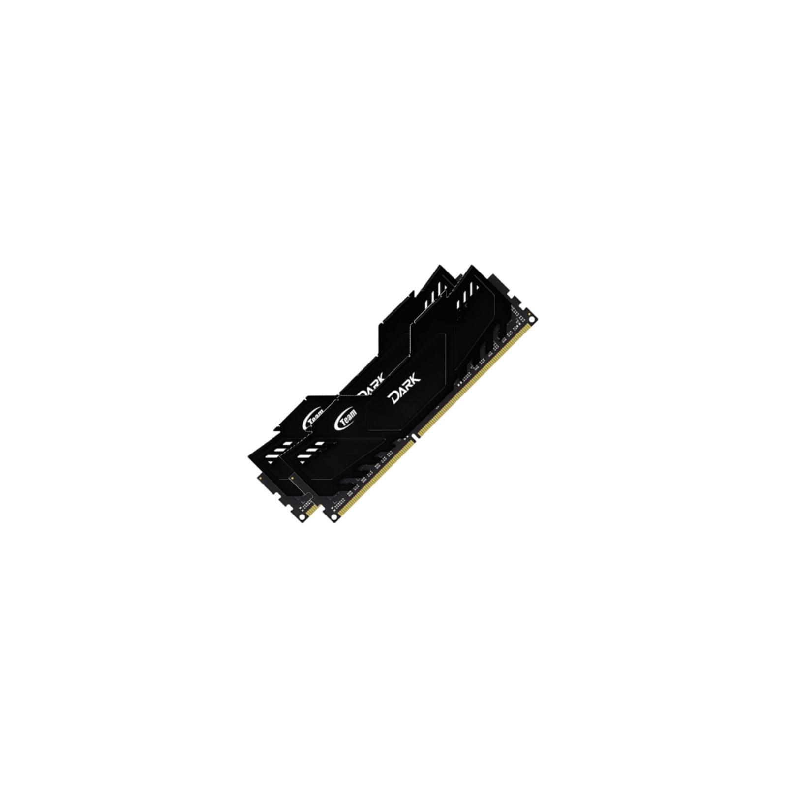 Модуль памяти для компьютера DDR4 8GB (2x4GB) 2666 MHz Dark Black Team (TDKED48G2666HC15ADC01) изображение 2