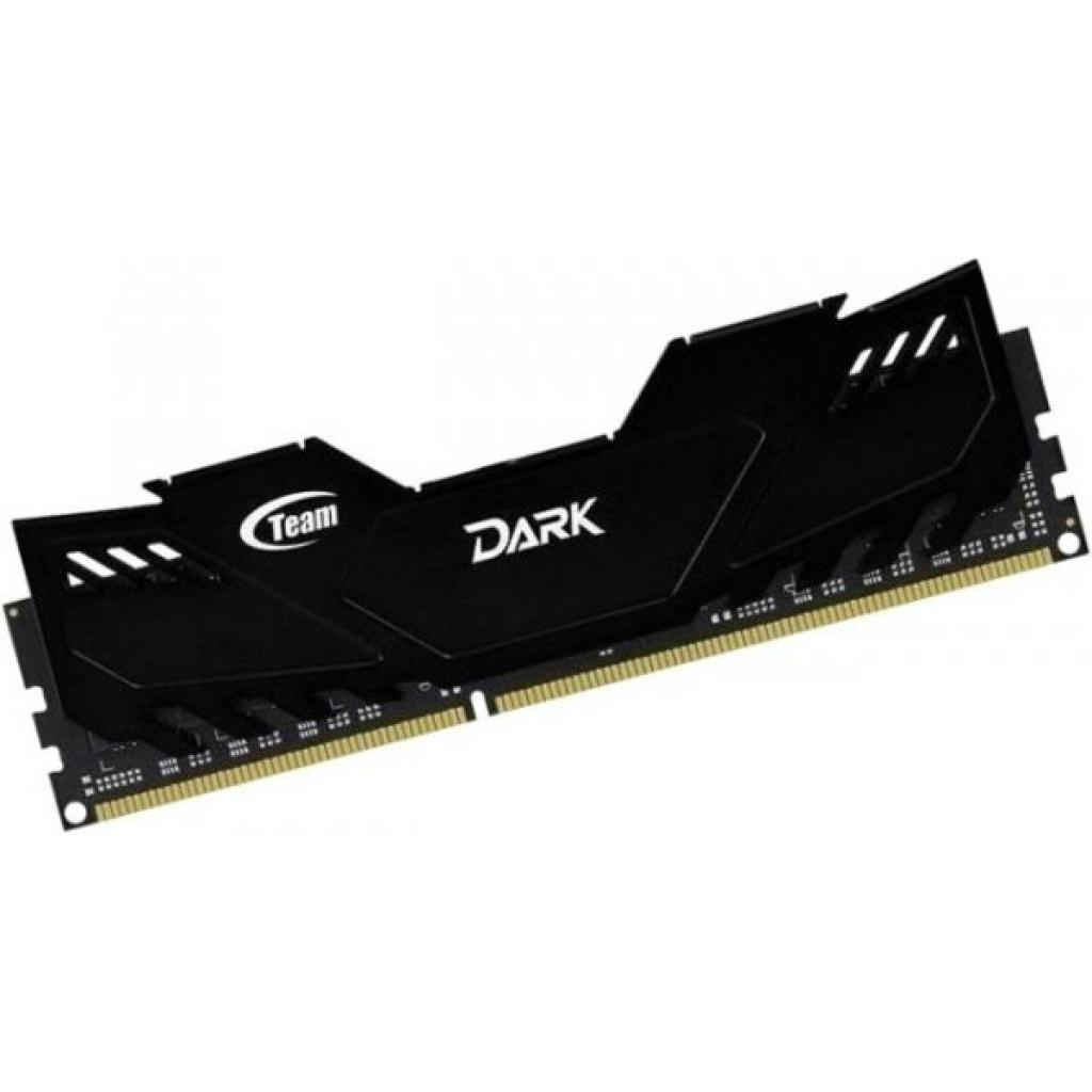 Модуль памяти для компьютера DDR4 8GB (2x4GB) 2666 MHz Dark Black Team (TDKED48G2666HC15ADC01) изображение 3