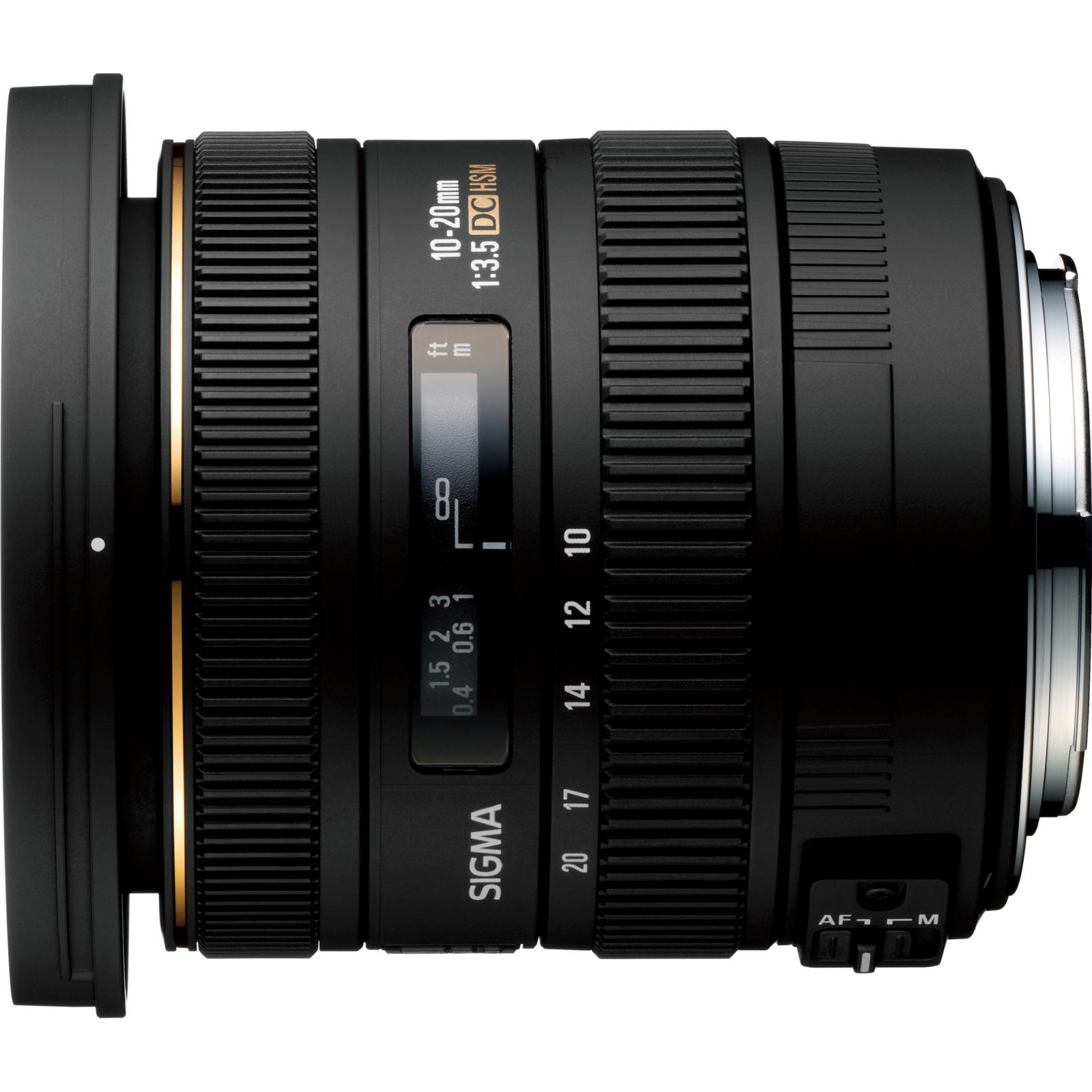 Объектив Sigma 10-20mm/3.5 EX DC HSM Canon (202954) изображение 2