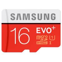 Карта памяти Samsung 16GB microSD Class 10 UHS-I EVO PLUS (MB-MC16DA/RU)