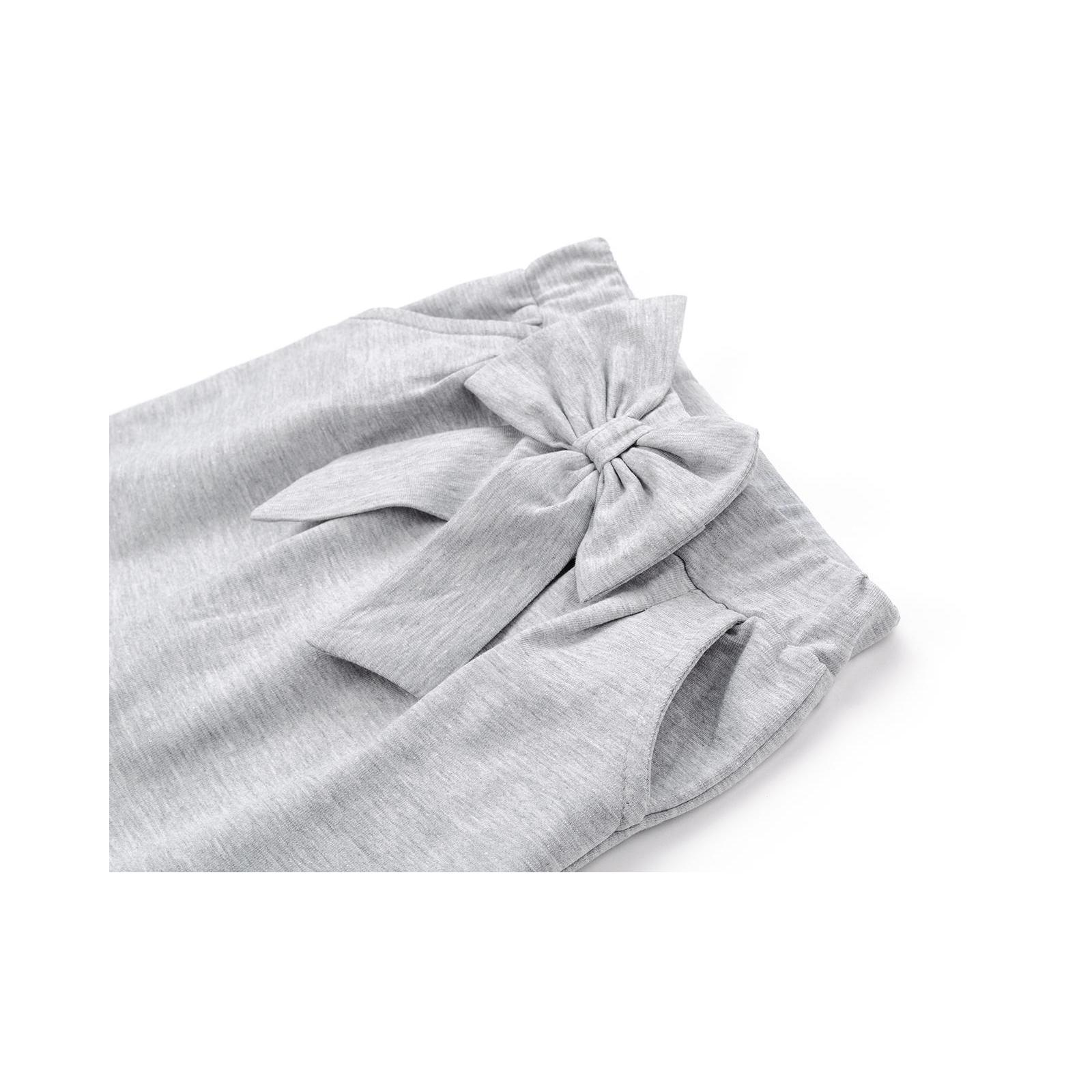 Штаны детские Breeze с бантом (10704-98G-gray) изображение 4