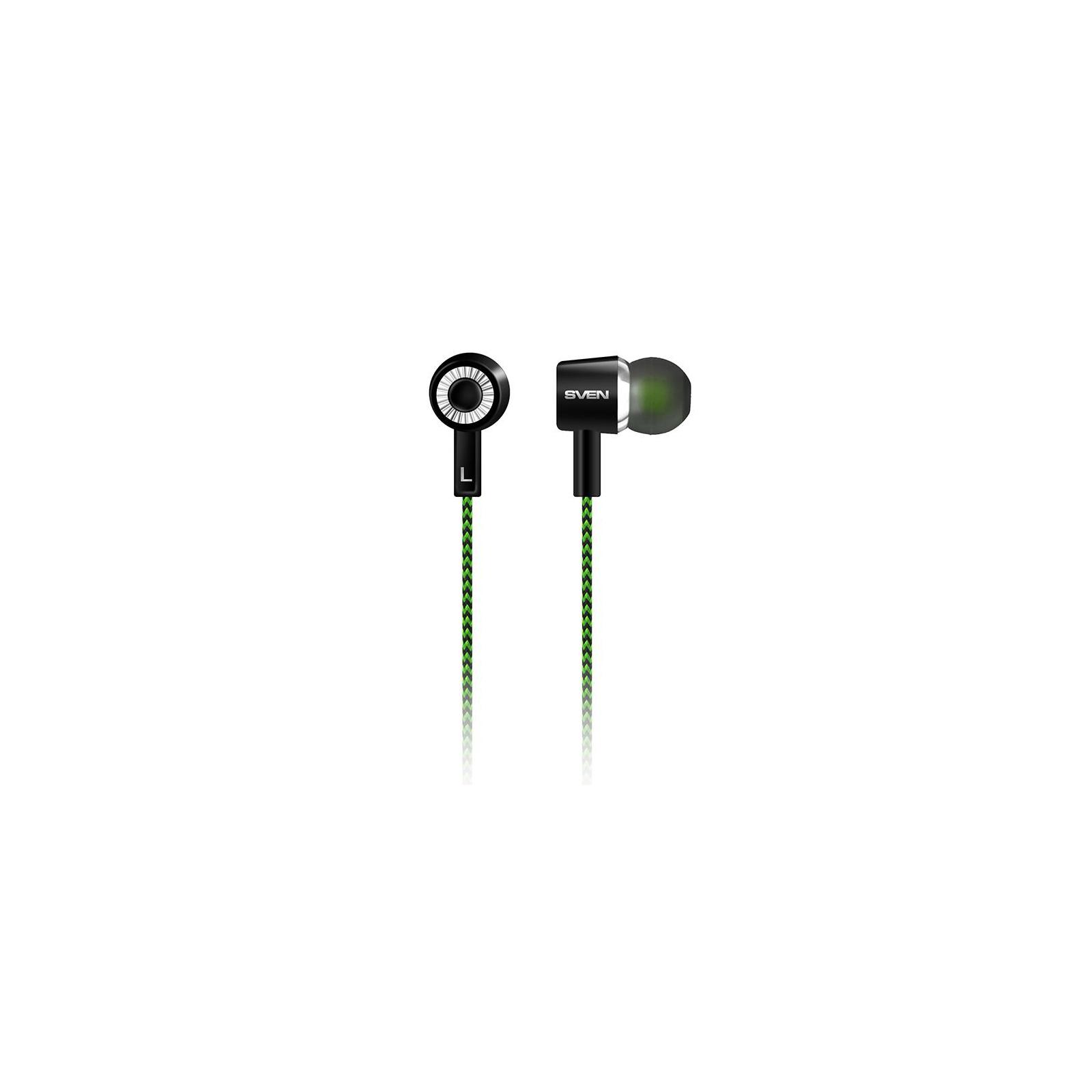 Наушники Sven E-107 black-green