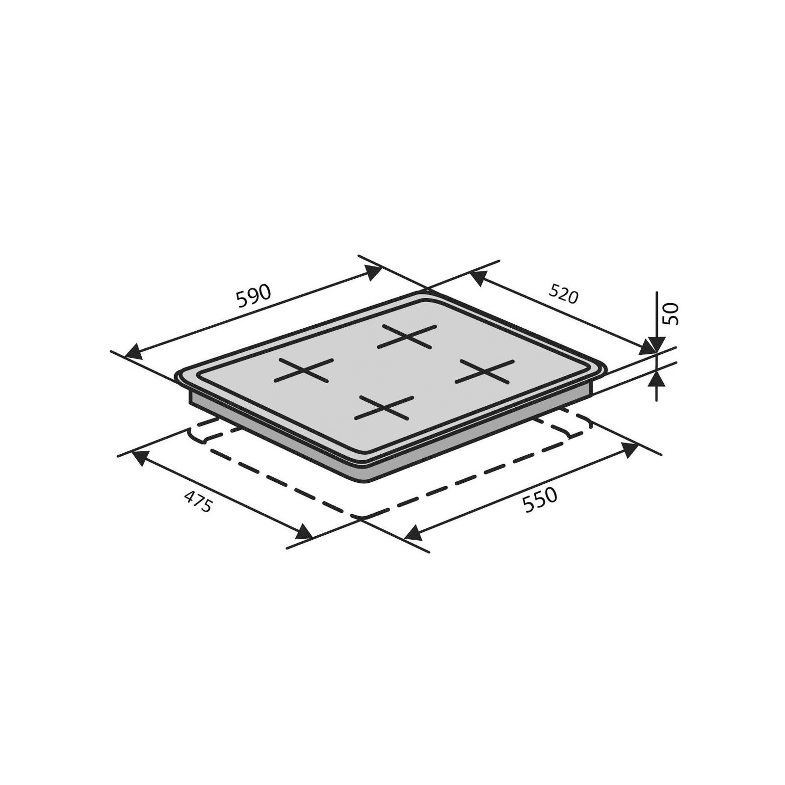 Варочная поверхность Ventolux HSF640-D3 CEST (IVORY) изображение 11
