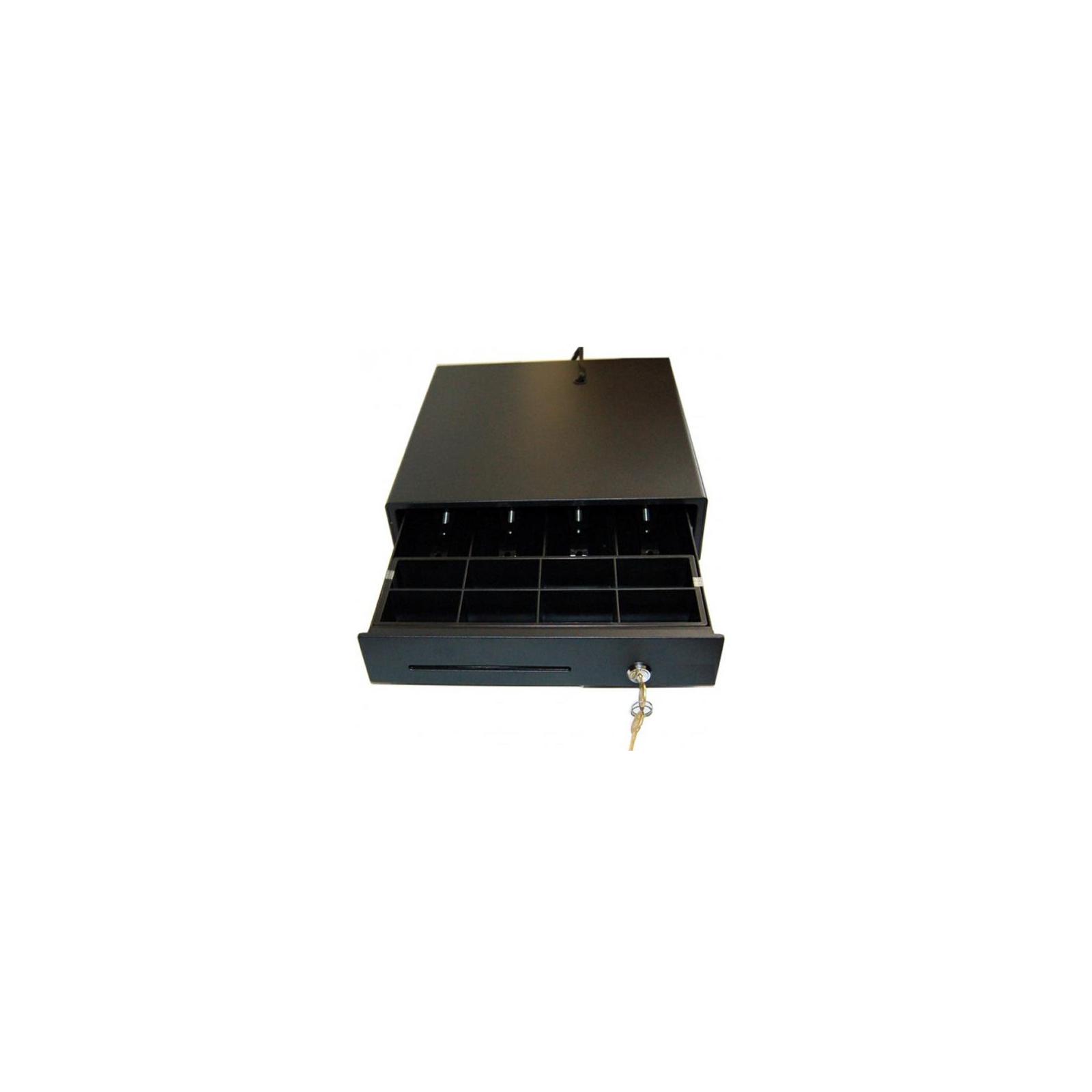 Денежный ящик ИКС-Маркет E3336D Black, 12V (E3336D BLACK 12V) изображение 2
