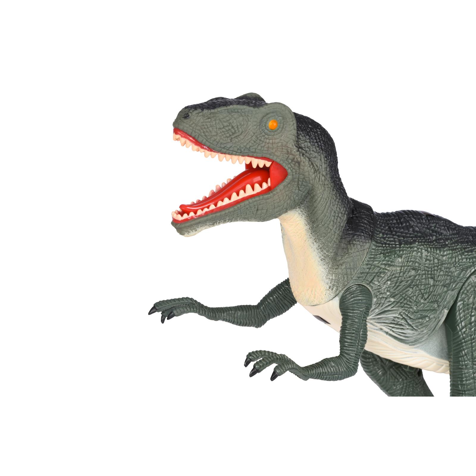 Интерактивная игрушка Same Toy Динозавр Dinosaur World зеленый со светом звуком (RS6124Ut) изображение 3