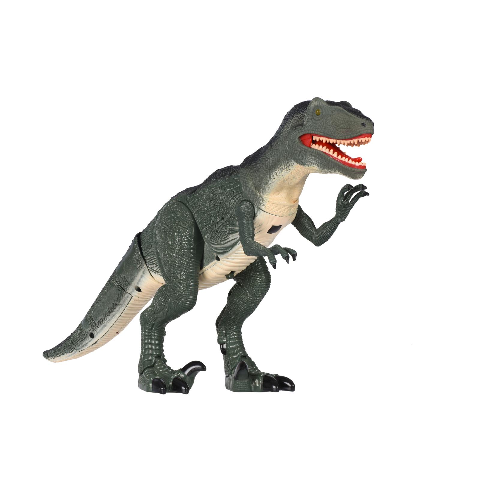 Интерактивная игрушка Same Toy Динозавр Dinosaur World зеленый со светом звуком (RS6124Ut) изображение 4