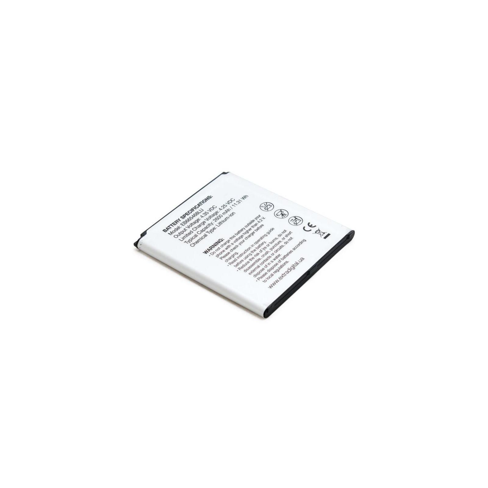 Аккумуляторная батарея EXTRADIGITAL Samsung Galaxy Grand 2 Duos G7102 (2600 mAh, EB665468LU) (BMS6417) изображение 5