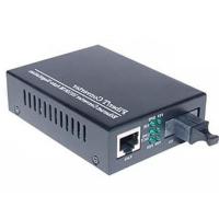 Медіаконвертер Merlion 10/100Base-TX to 100Base-F 1550нм, SM, SC/RJ-45, 25 км +БП (HTB-3100B / 1550_WDM)